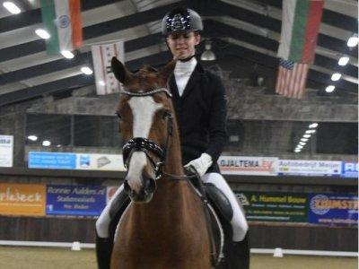 Gavaristo en Margot reserve kampioen Z1 Groningen
