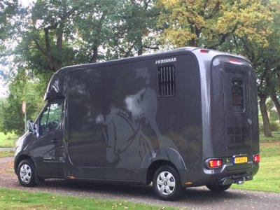 Nieuw paardenvervoer